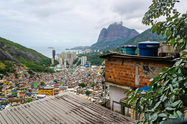 Favela da Rocinha Rio de Janeiro
