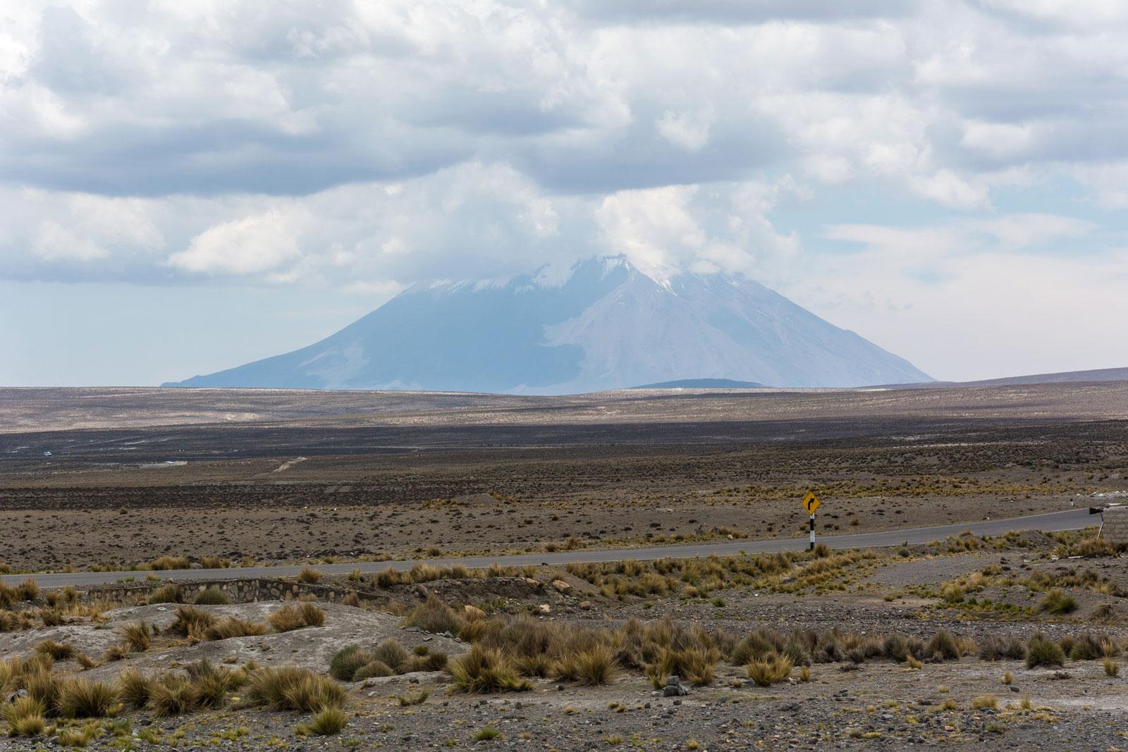 el misti volcan perou arequipa