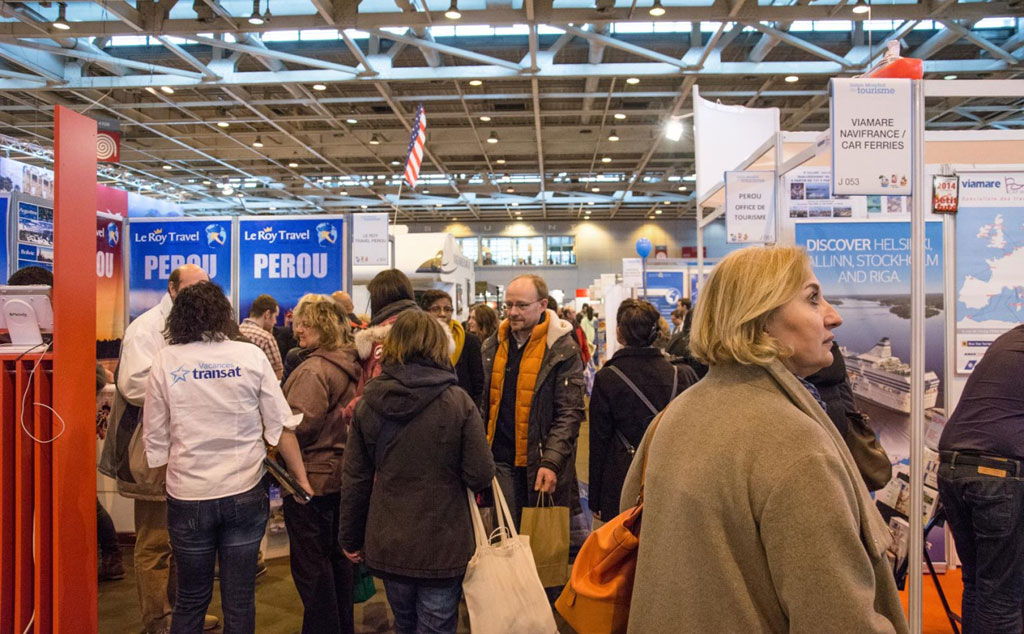 Une journ e au salon mondial du tourisme de paris - Salon tourisme paris ...