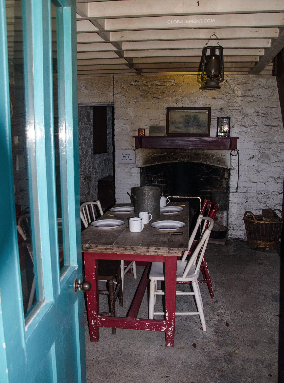 intérieur maison irlandaise