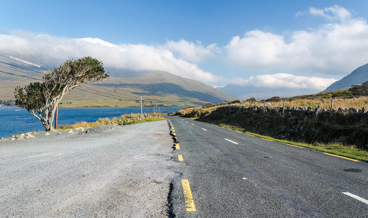 route irlandaise connemara