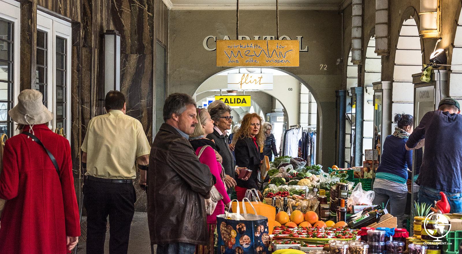 arcades berne suisse
