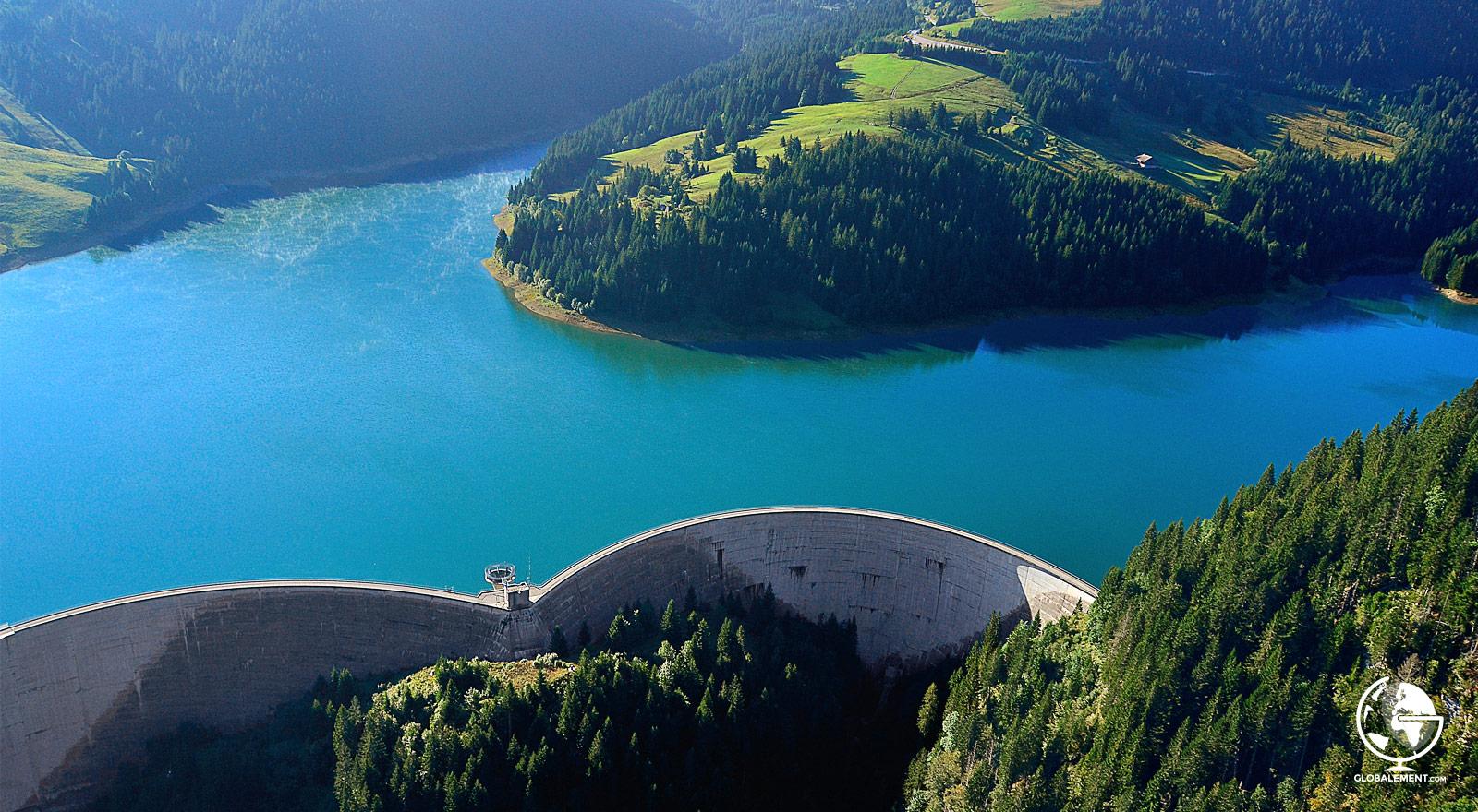 barrage l'hongrin suisse