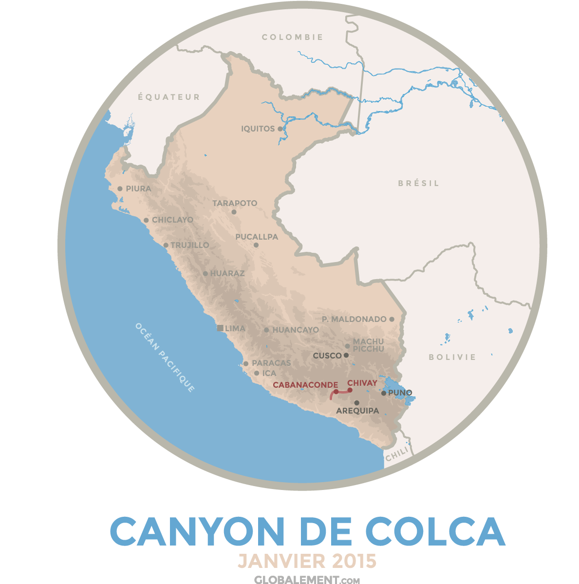trek canyon colca perou