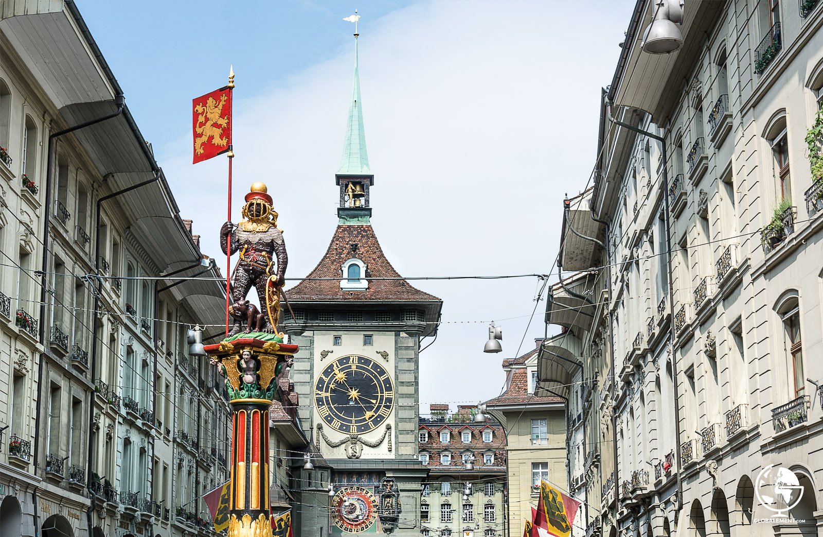 fontaines berne suisse
