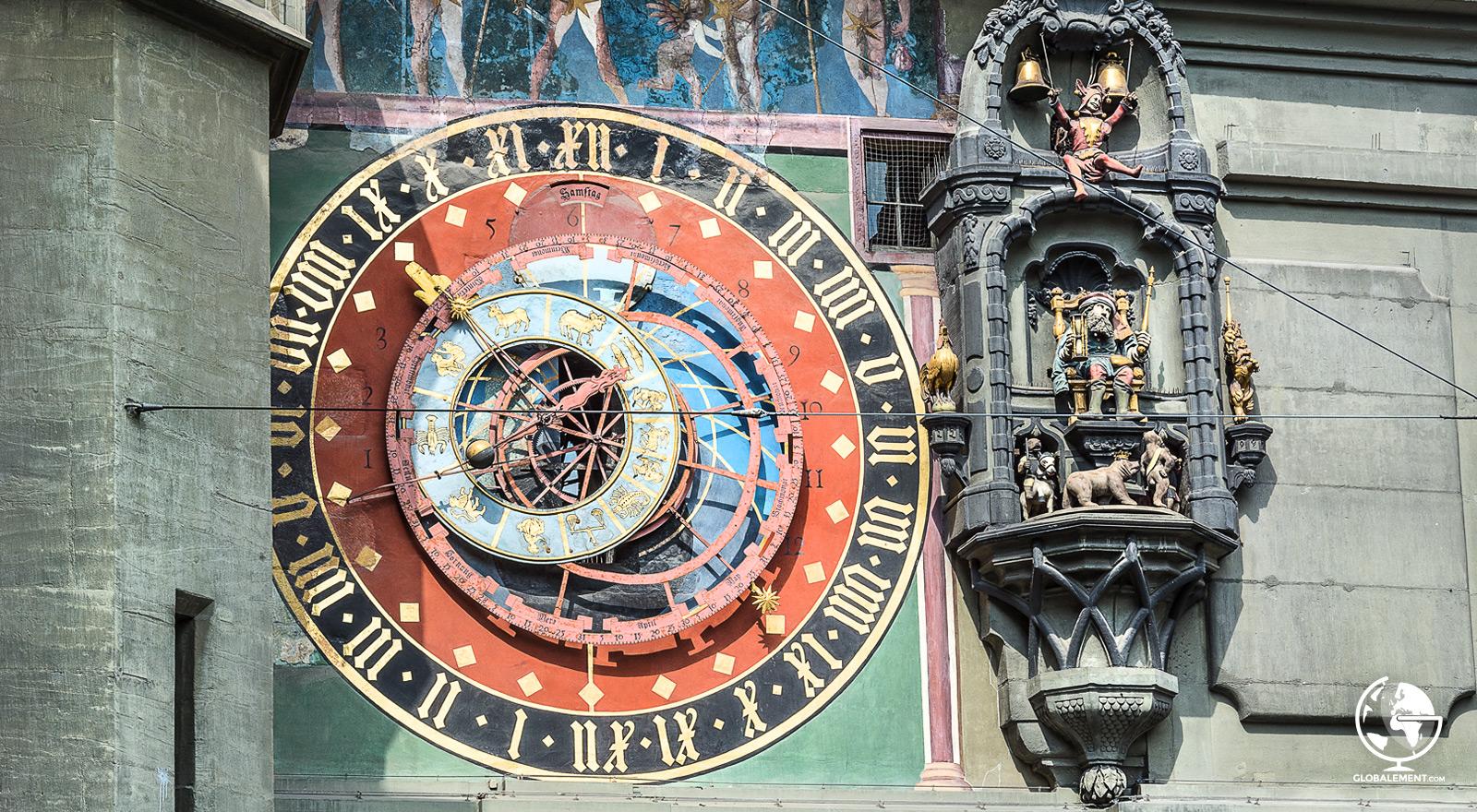 tour de l'horloge berne zytglogge