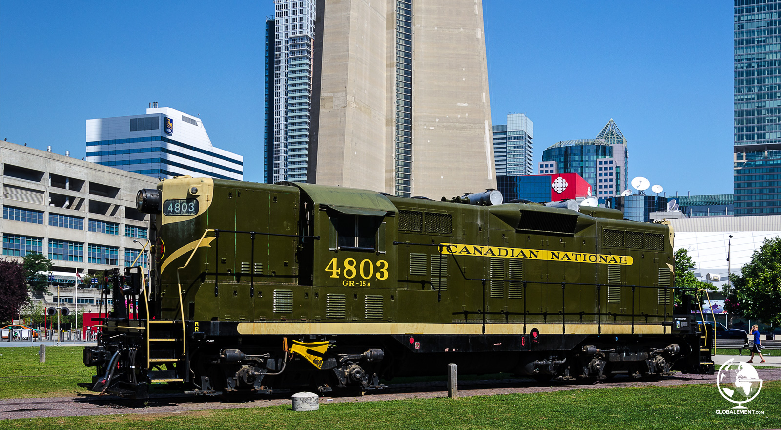 old train canadian railway toronto