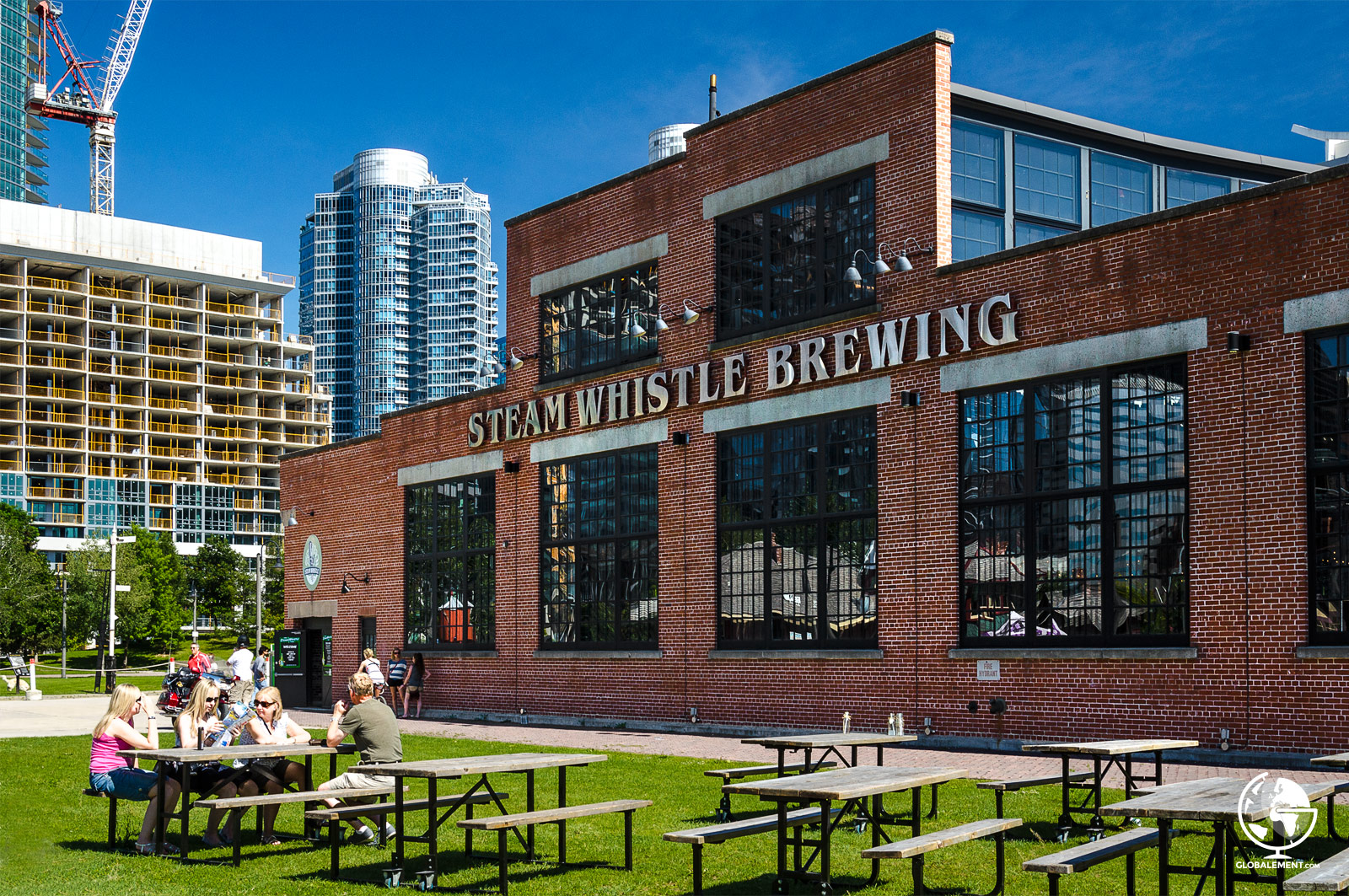 steam whistle brewery toronto canada