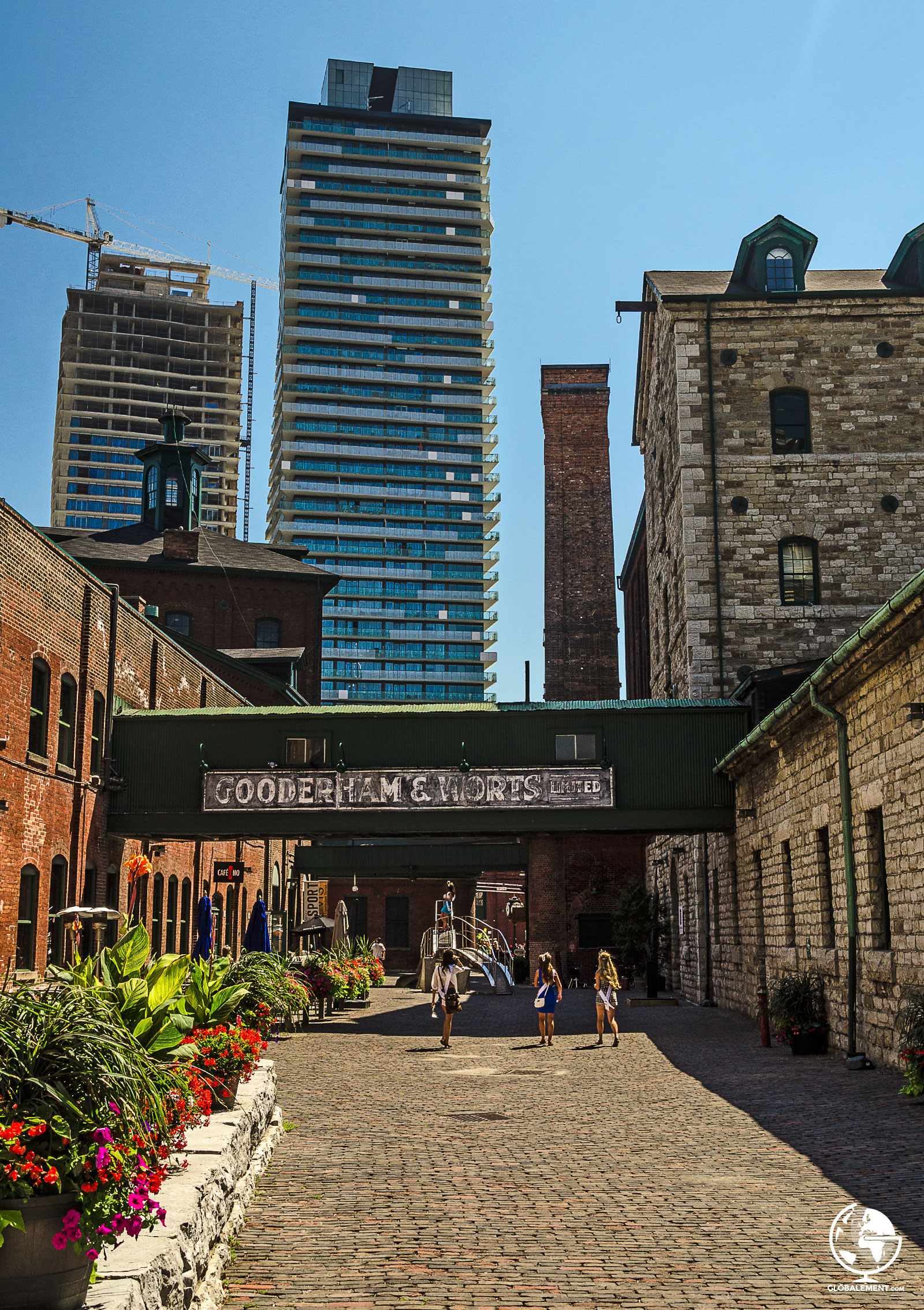 toronto brewery district