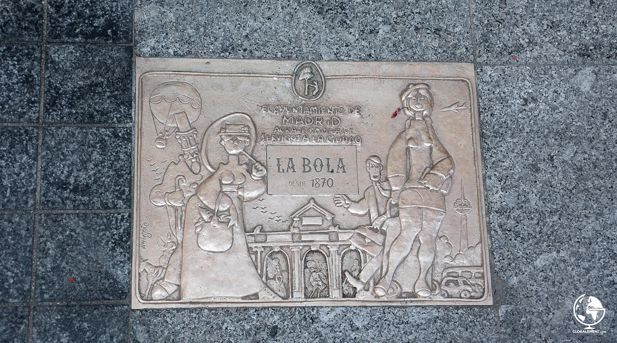 plaque centenaire madrid