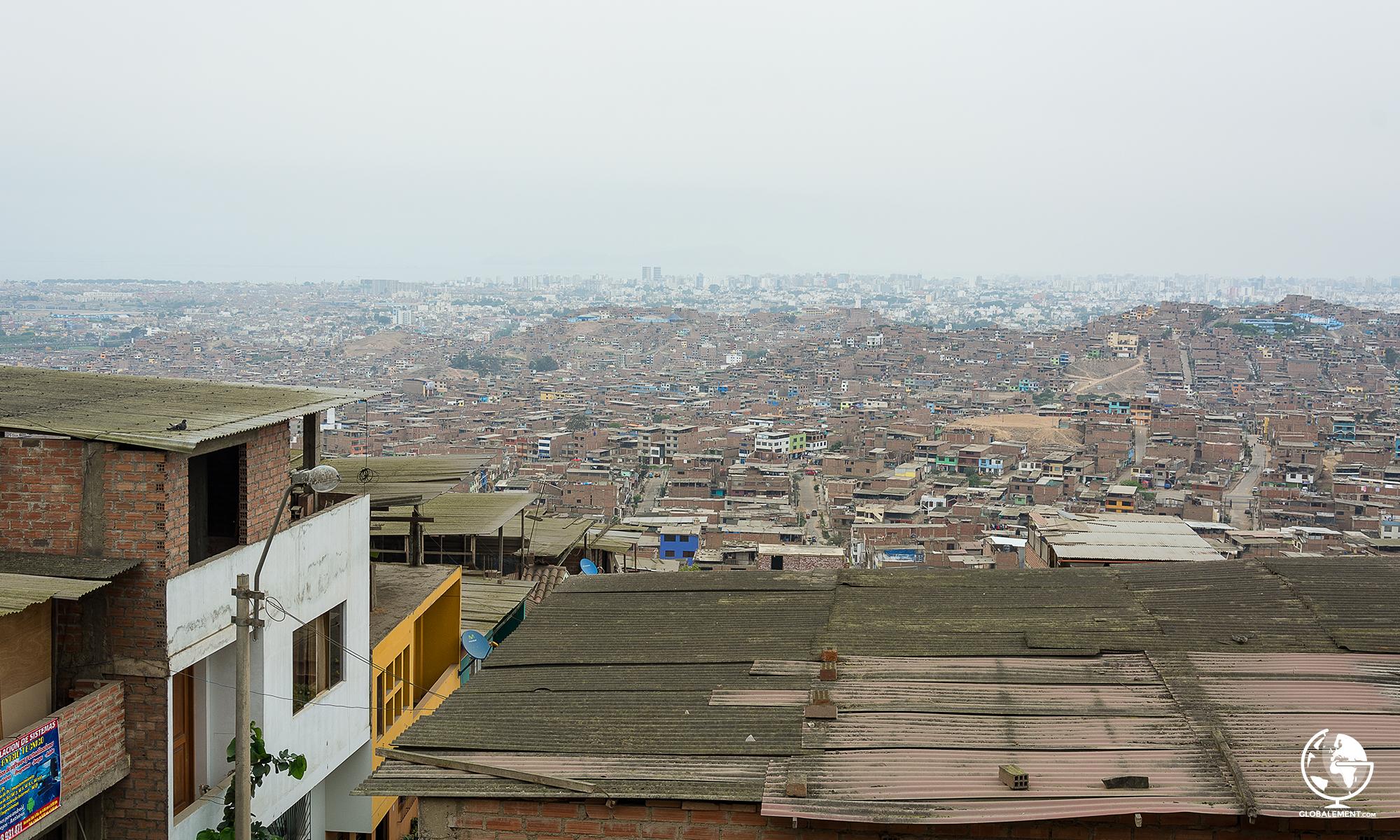 Pamplona Alta San Juan de Miraflores, Lima quartier populaire