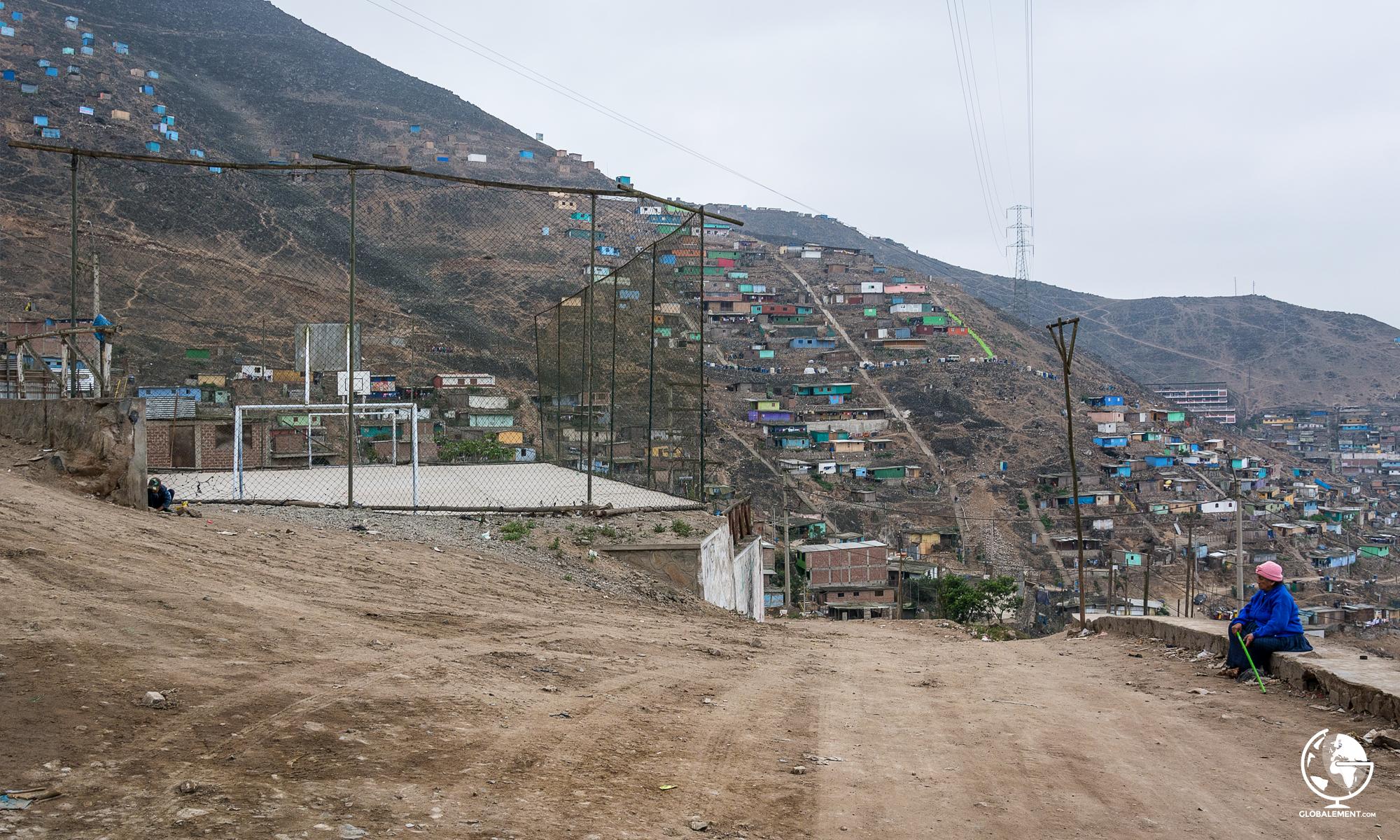 San Juan de Miraflores, Lima quartier populaire